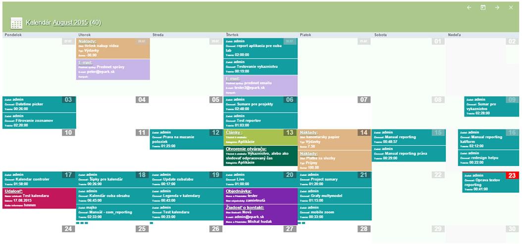 CubaLab kalendár